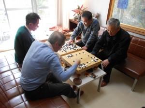 おしゃべりサロンでは囲碁将棋も行っています