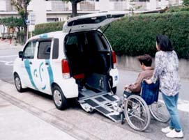 車いす対応車写真