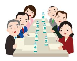 会議のイメージ図